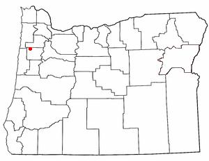Grand Ronde Oregon Map.Grand Ronde Community Wikidata