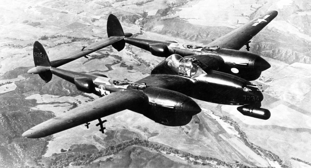 P 38 Night Fighter