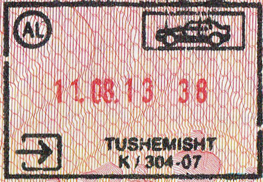 Image result for albanian passport stamp