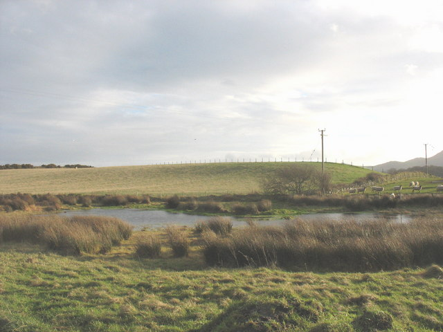 Pond at Porthdinllaen Farm - geograph.org.uk - 664117