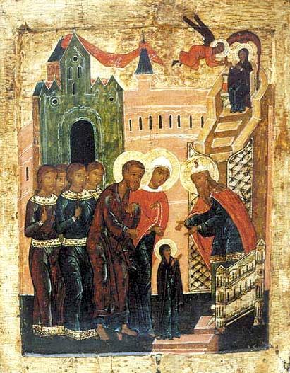 Presentation_of_Virgin_Mary_%28icon%29 Всемирното Православие - Православен Календар
