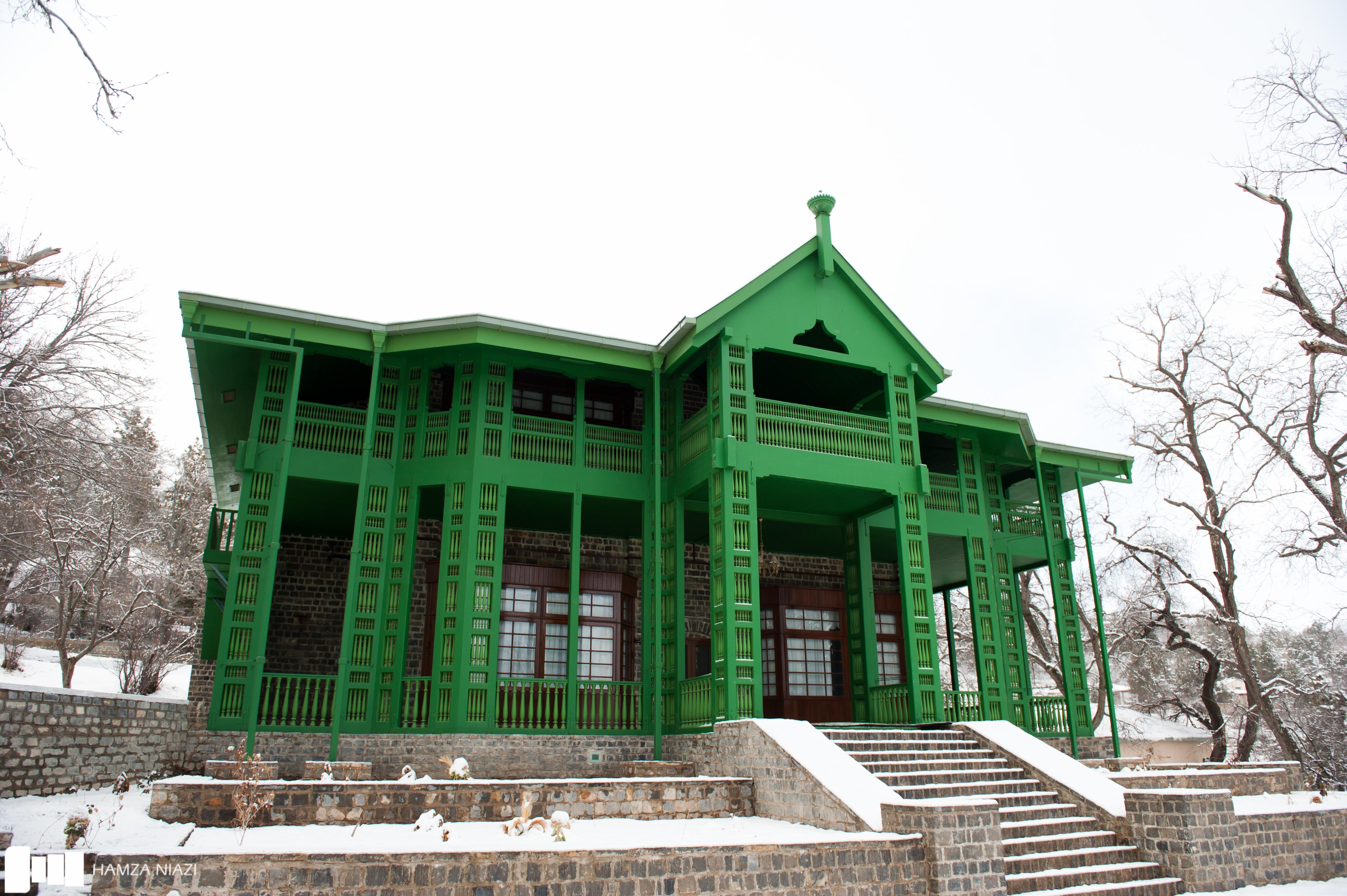 Ziarat residency attack video