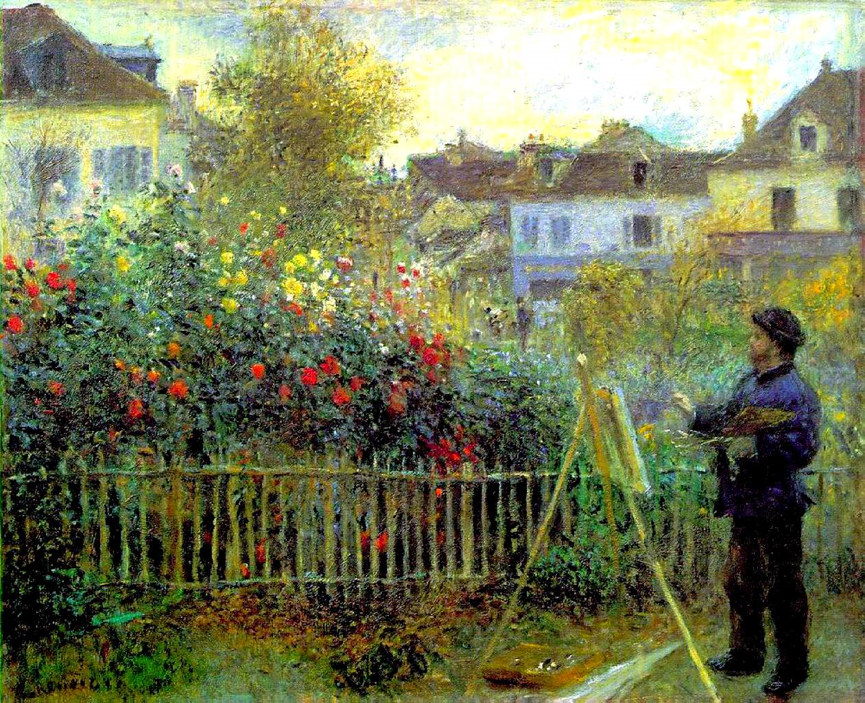 The work of cot and renoir