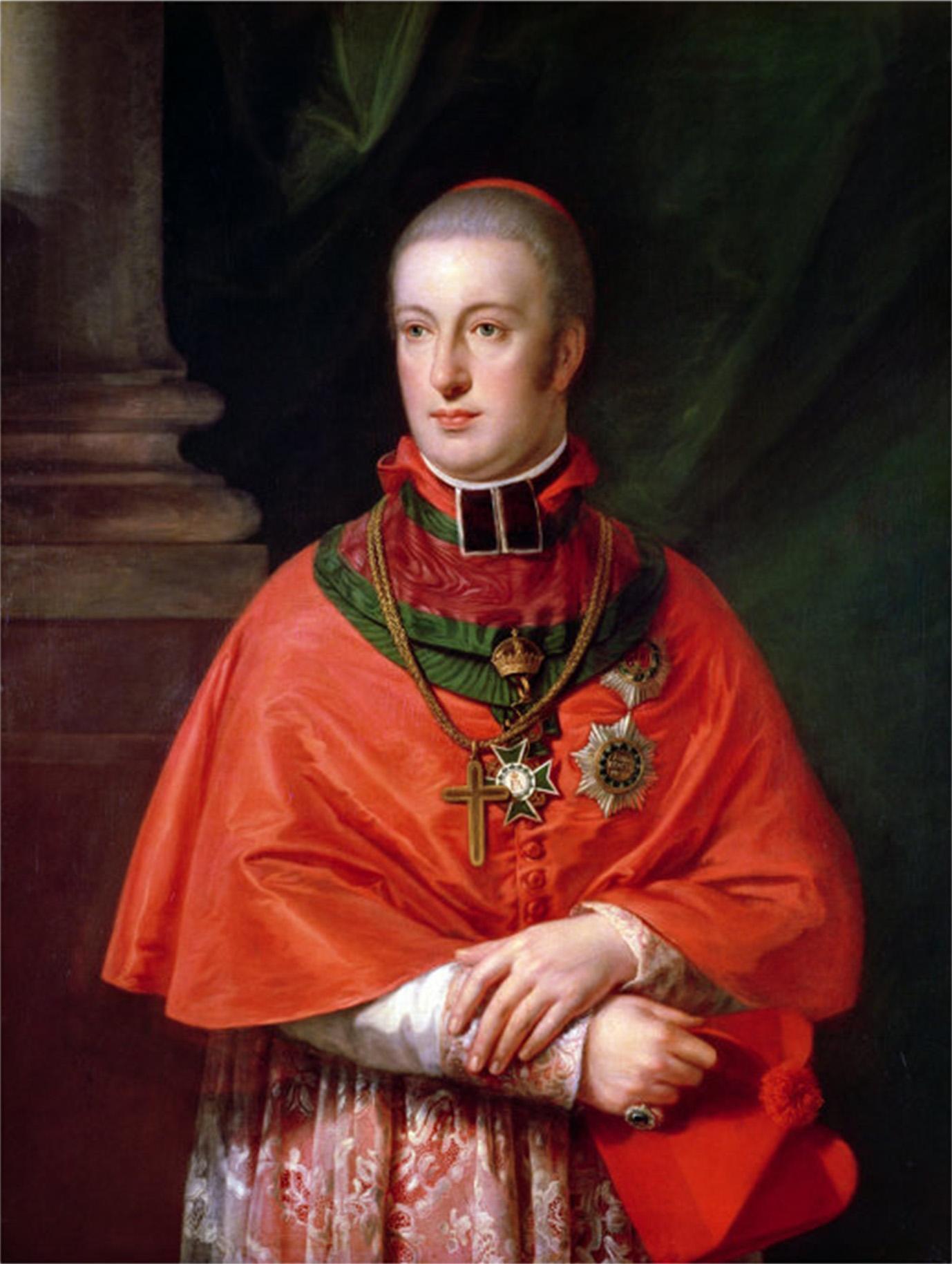 El archiduque Johann Joseph Rainer Rudolph, benefactor de Beethoven.