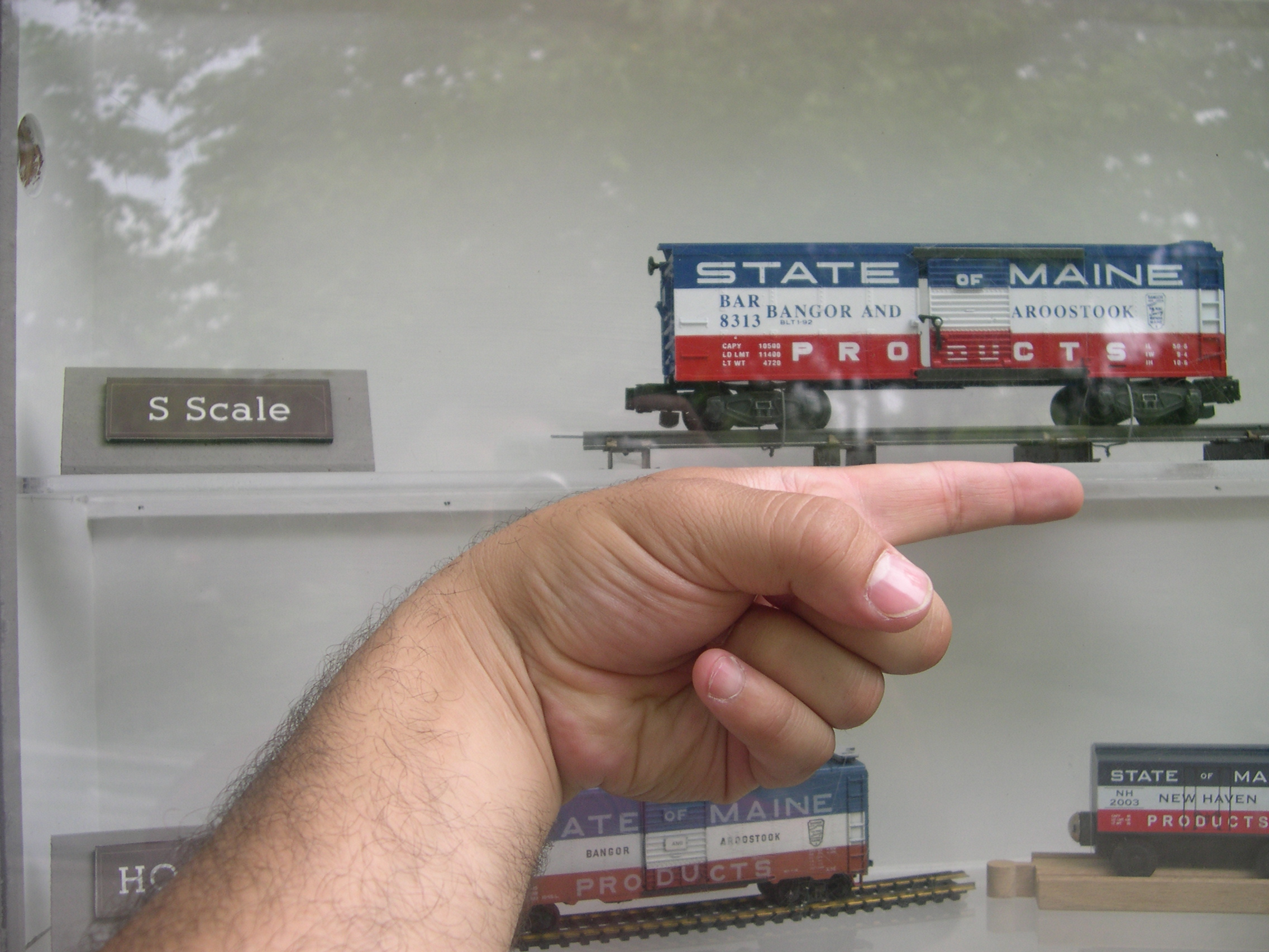 S scale model train decals
