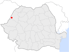 Location of Salonta