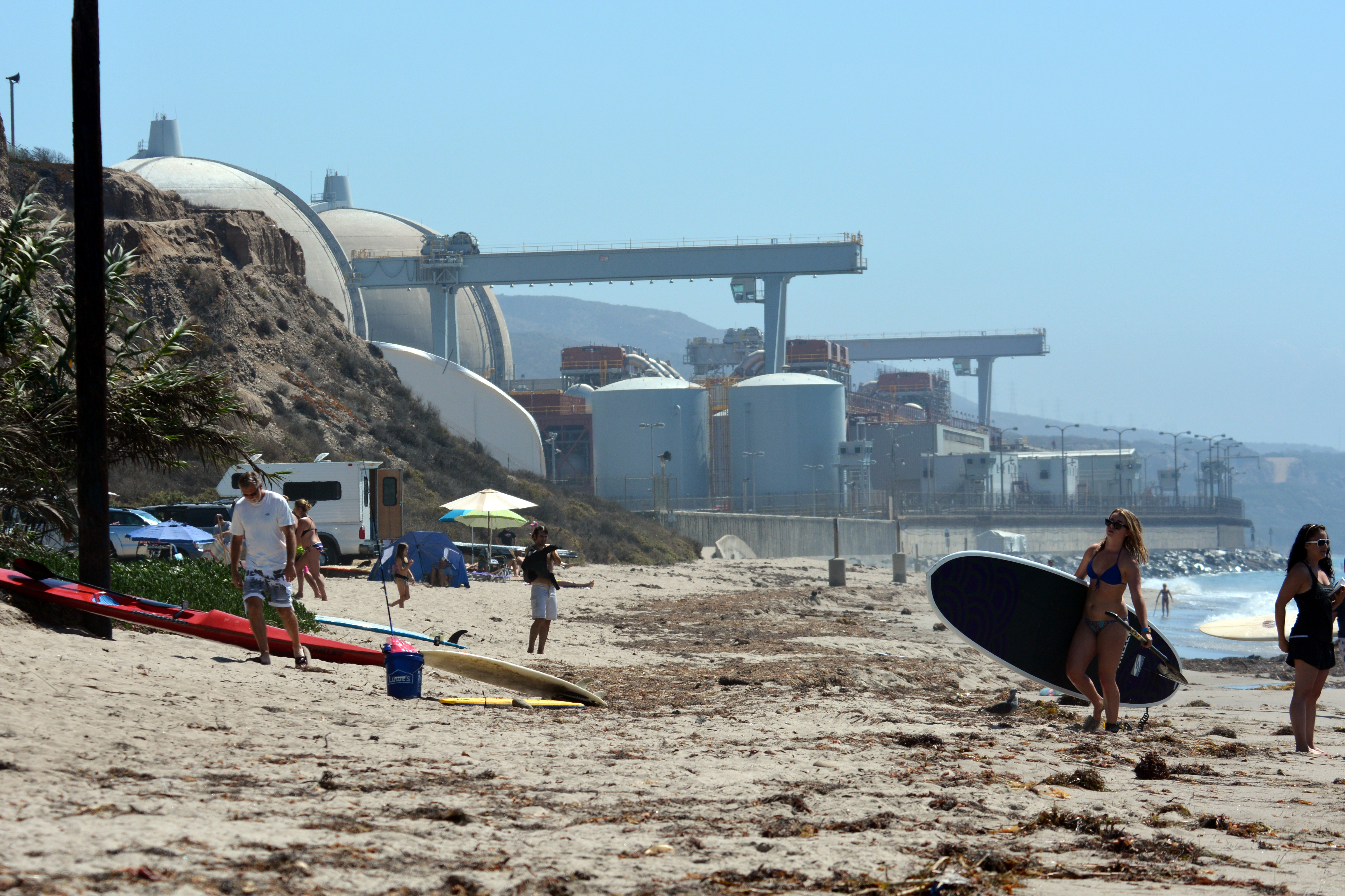 San Onofre Nuclear Generating Station - Wikipedia on doheny sb campground map, doheny state beach camping map, doheny campsite map, mueller state park campground map,