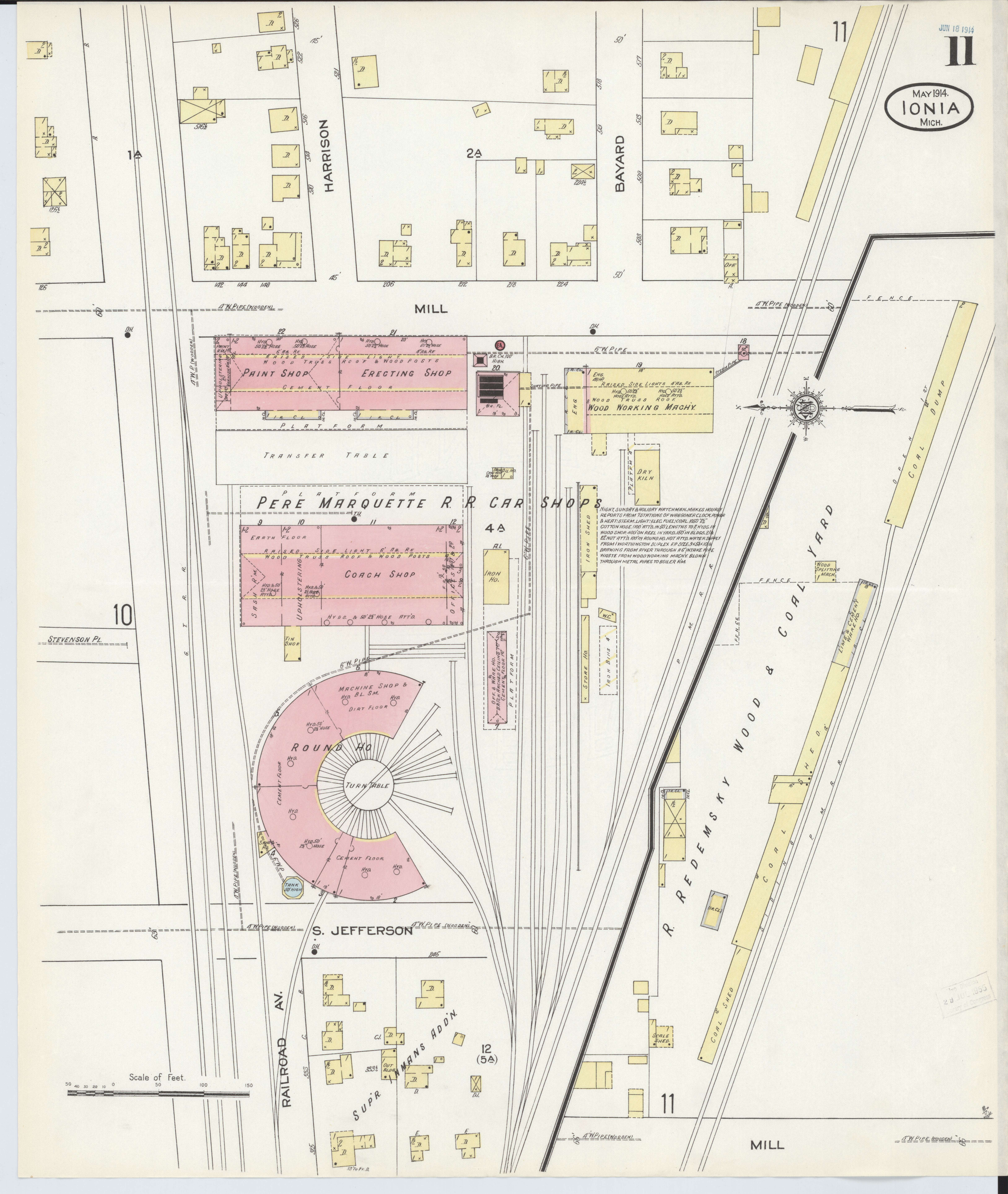File Sanborn Fire Insurance Map From Ionia Ionia County Michigan