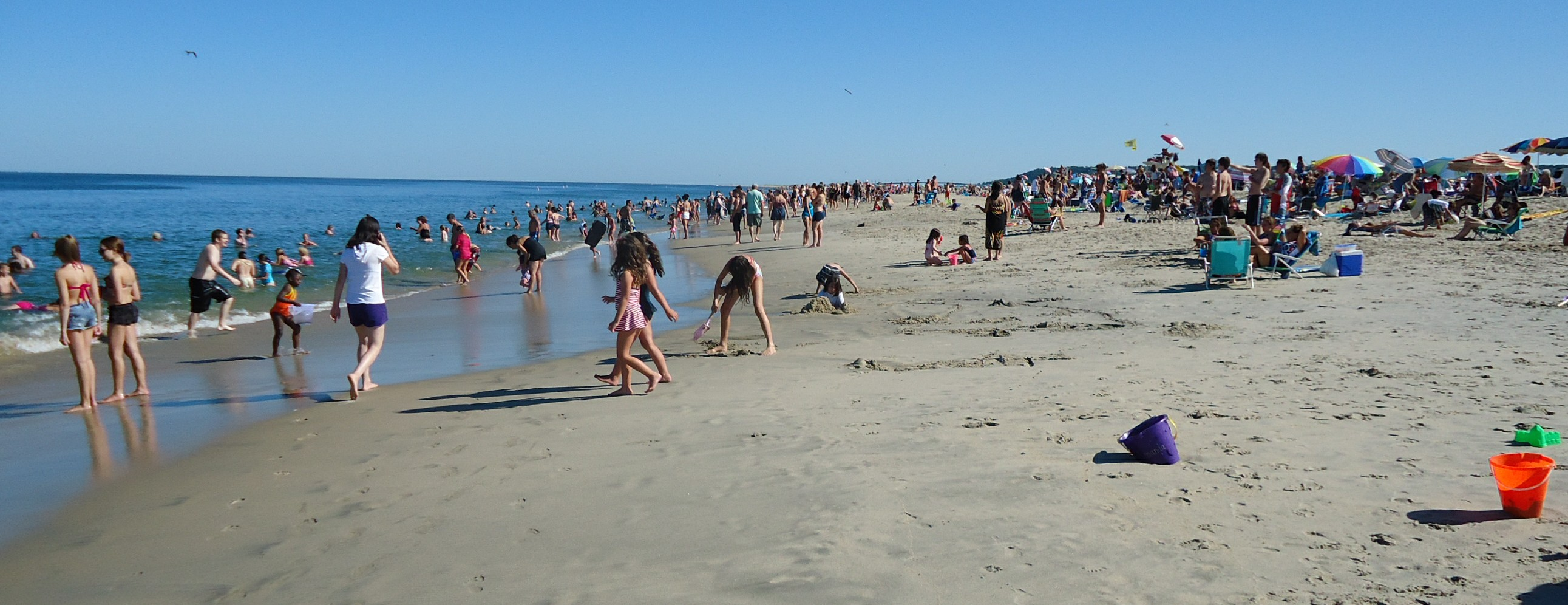File Sandy Hook Nj Beach July Afternoon Jpg