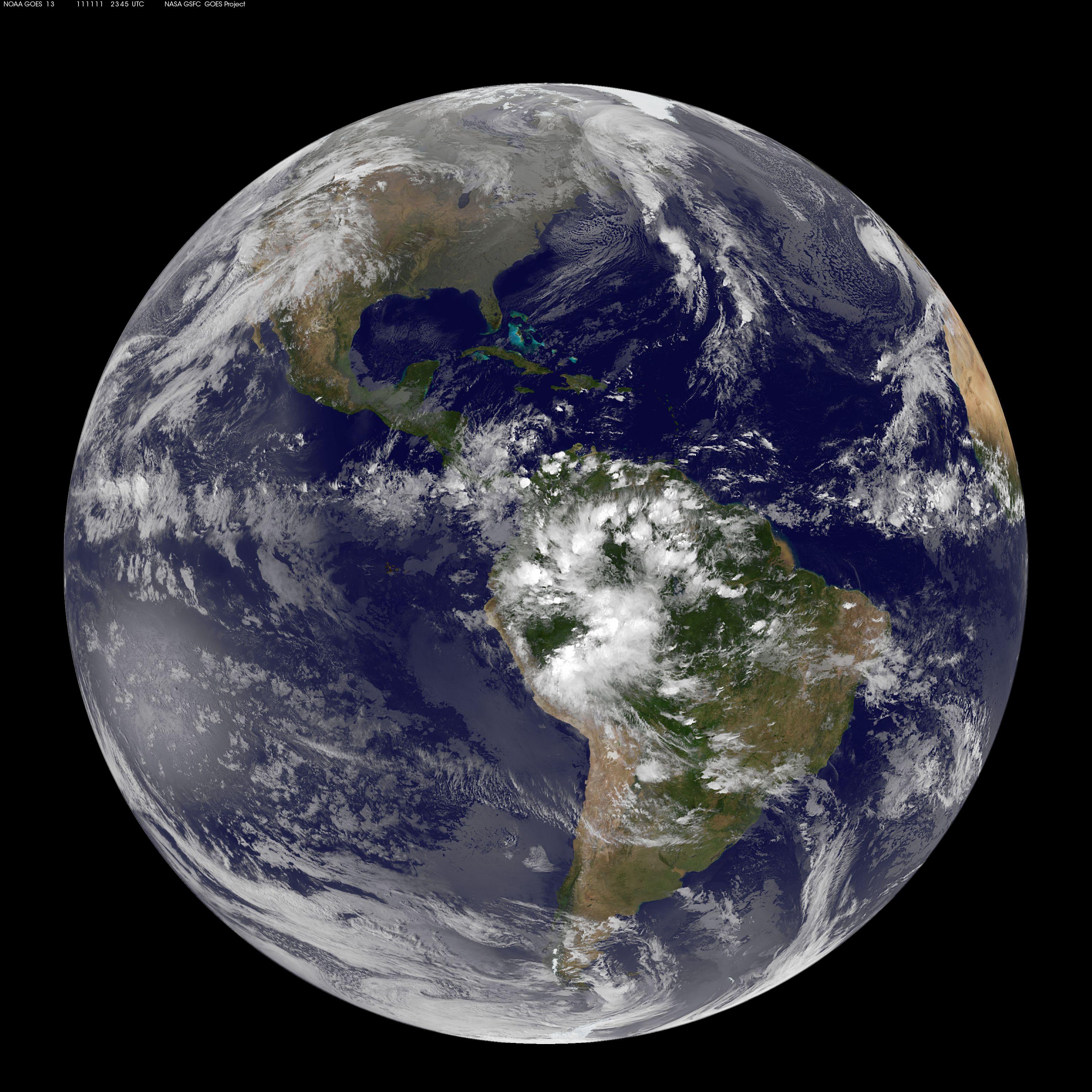 FileSatellite View Of Earth On Jpg - Earth satellite view 2016
