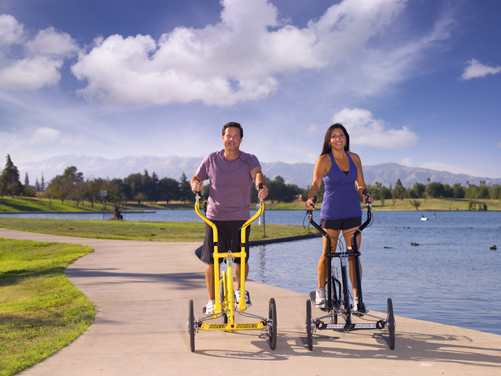English: Exercising outdoors is healthier than...