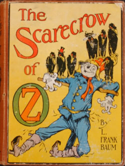 Cover of The Scarecrow of Oz (1915) by L. Frank Baum; illustration by John R. Neill