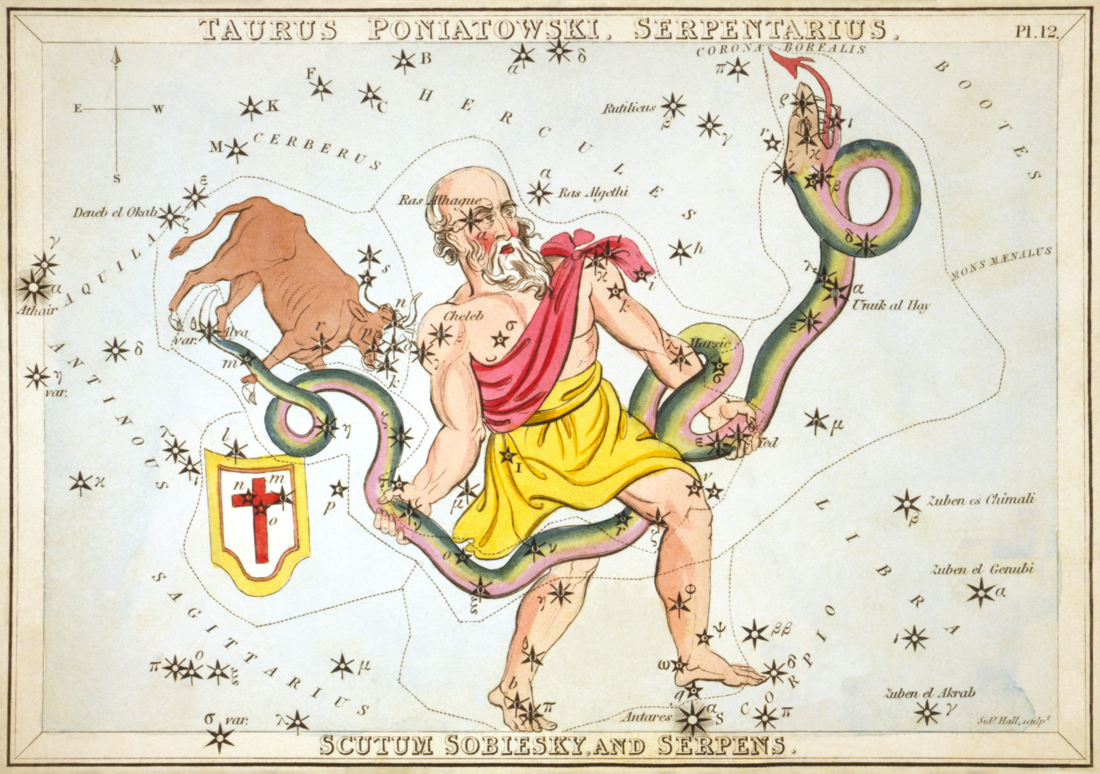 Full Astrology Chart: Ophiuchus - Wikipedia,Chart