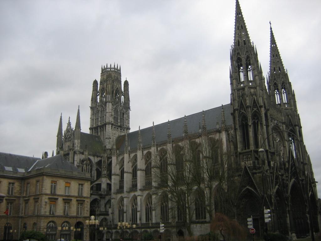 1890 cavaill coll at st ouen rouen france soar above - Agence saint ouen rouen ...