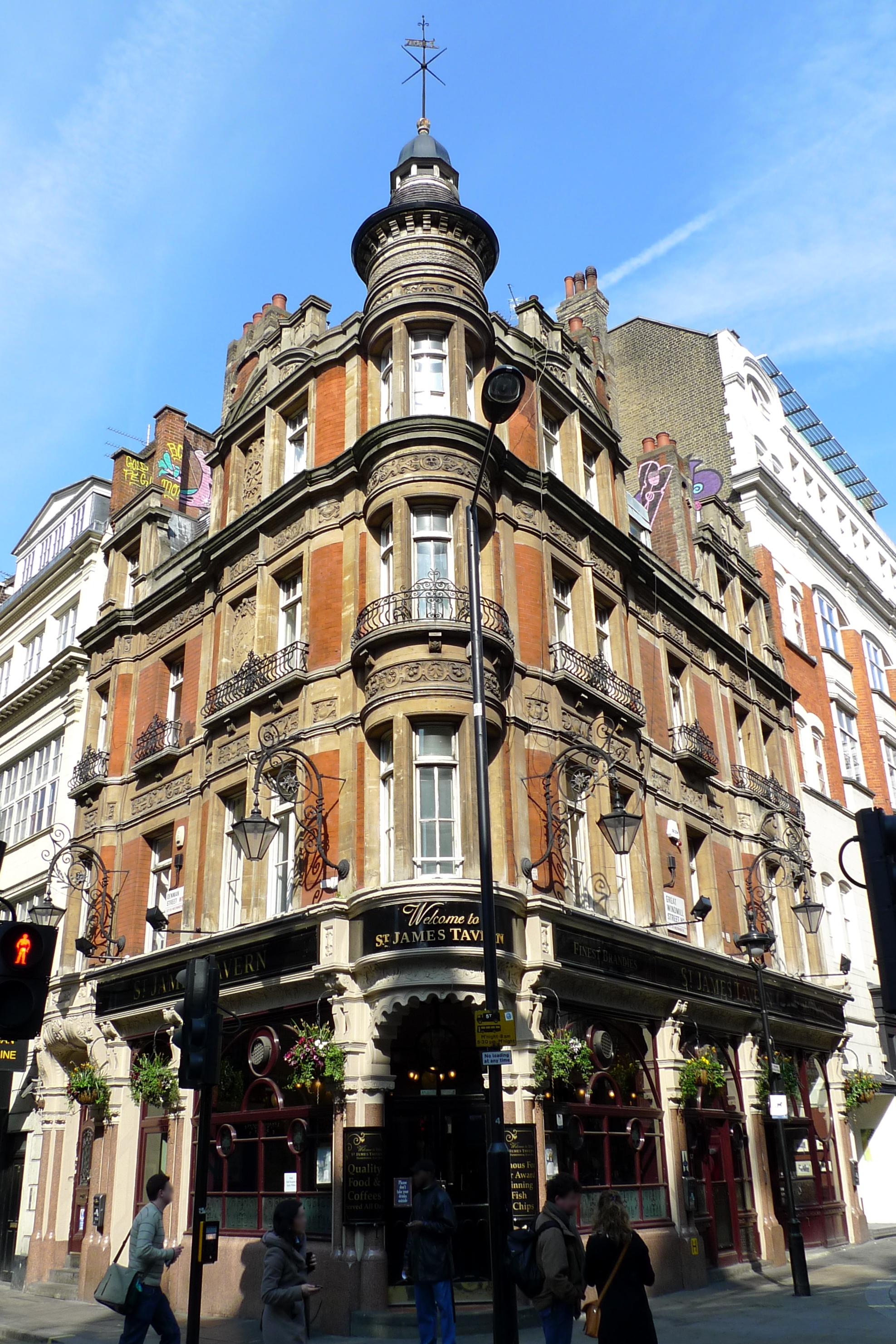 St James S Hotel London Vereinigtes Konigreich