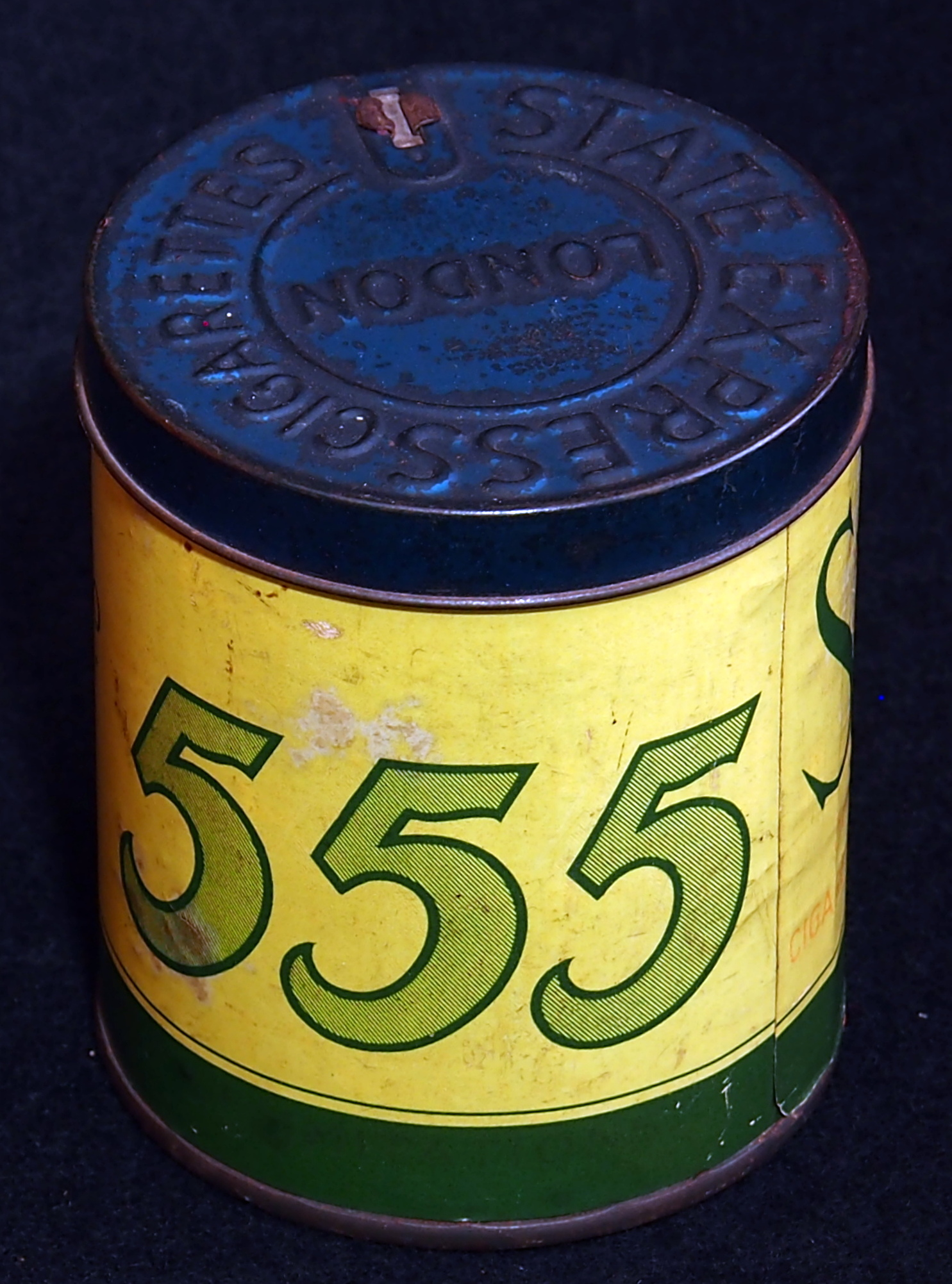 FileState Express Cigarettes No 555 Tin Photo01JPG