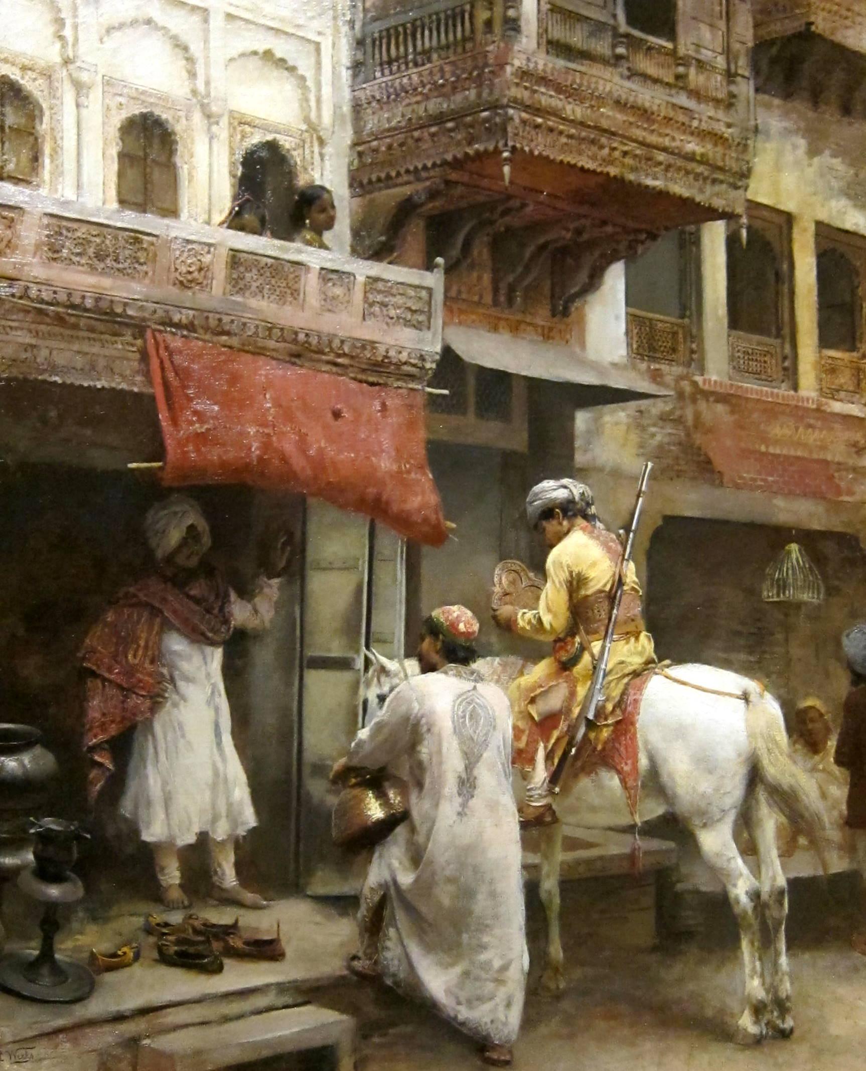 Egyptian White Paint