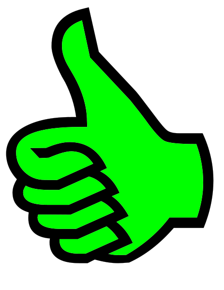 File:Symbol thumbs up green.png. No higher resolution available.