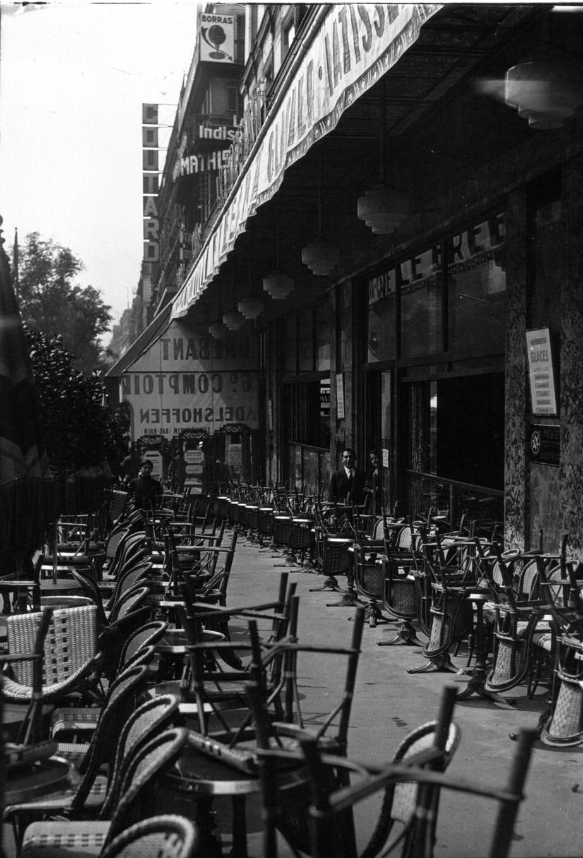 File Terrasse Du Br Bant L 39 Heure De La Fermeture Photo
