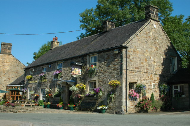 The Cheshire Cheese at Longnor - geograph.org.uk - 768187