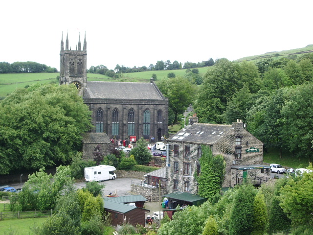 The Parish Church of St Chad, Saddleworth - geograph.org.uk - 483908