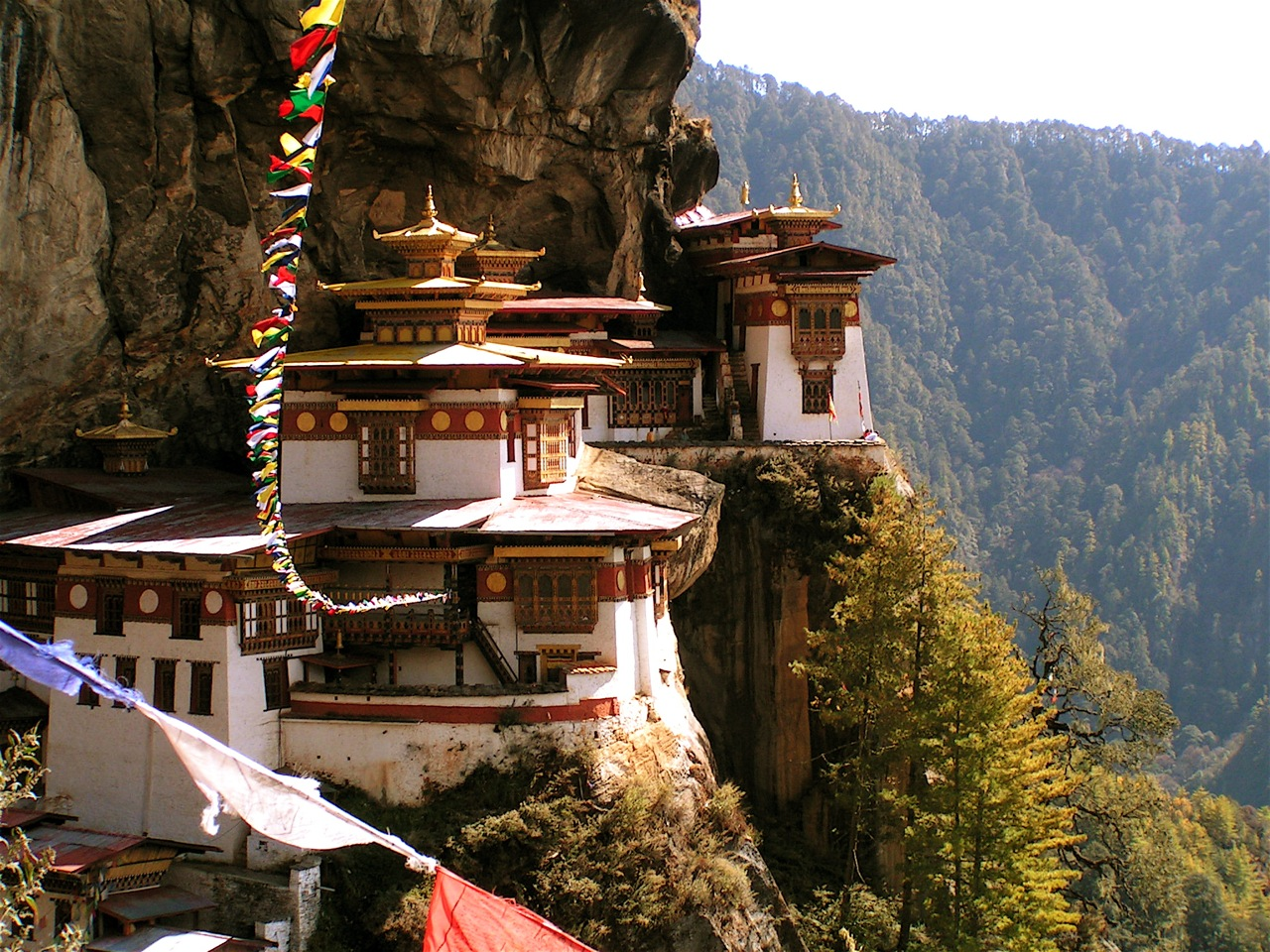 Taktsang Monastery, or The Tiger's Nest.