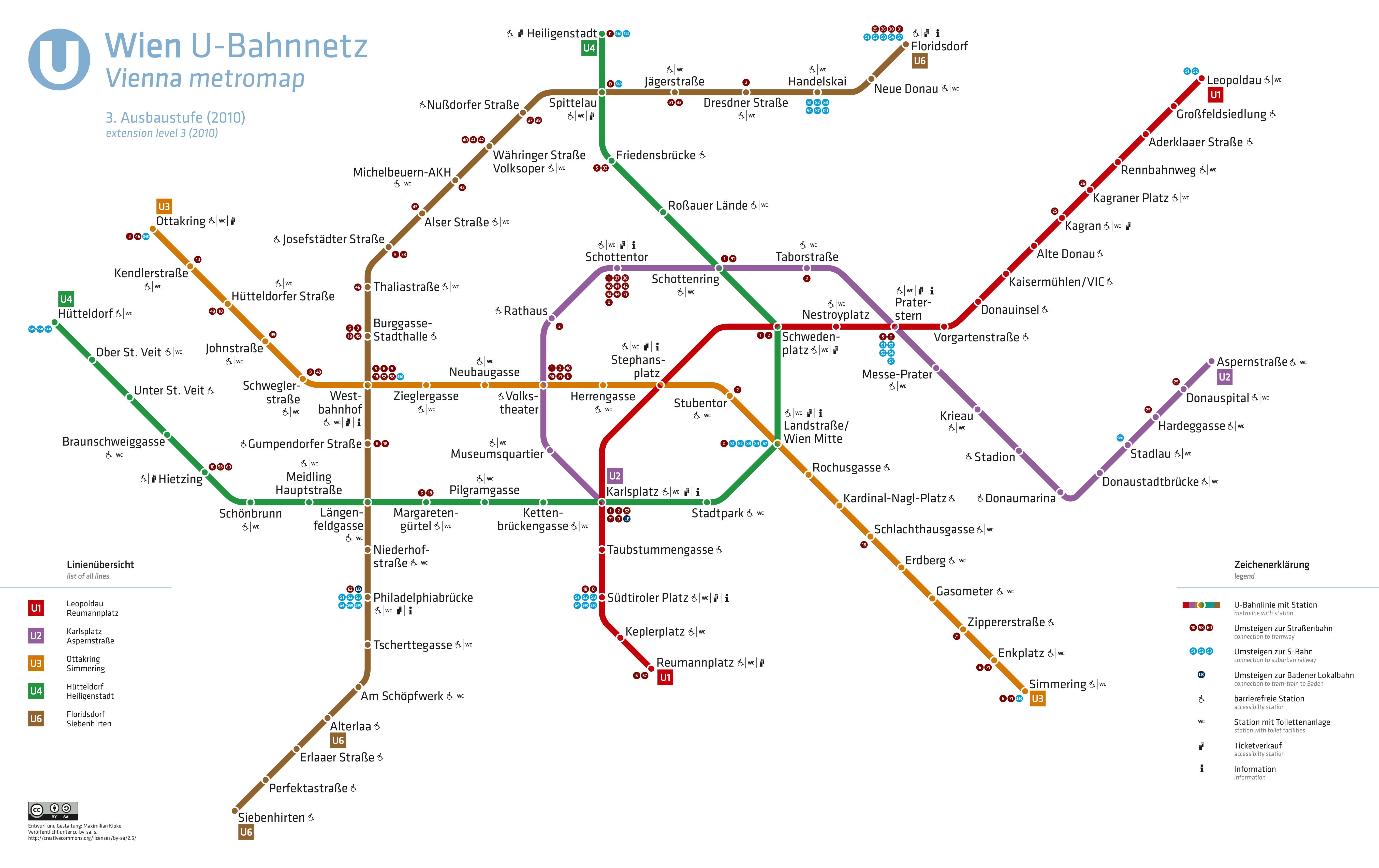 Vienna U-Bahn Vienna metropolitana