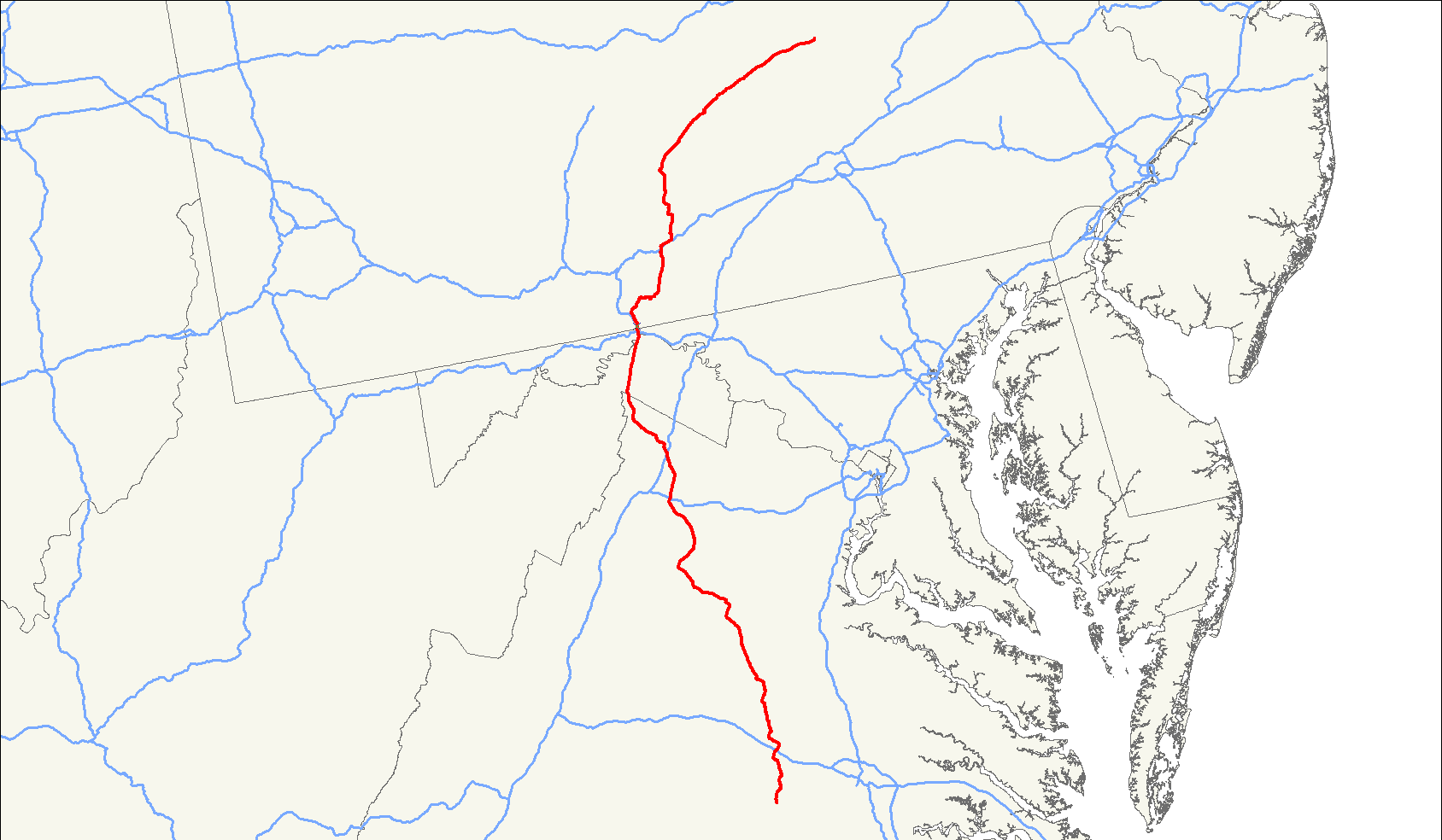 Route 522 Virginia Map.U S Route 522 Wikipedia