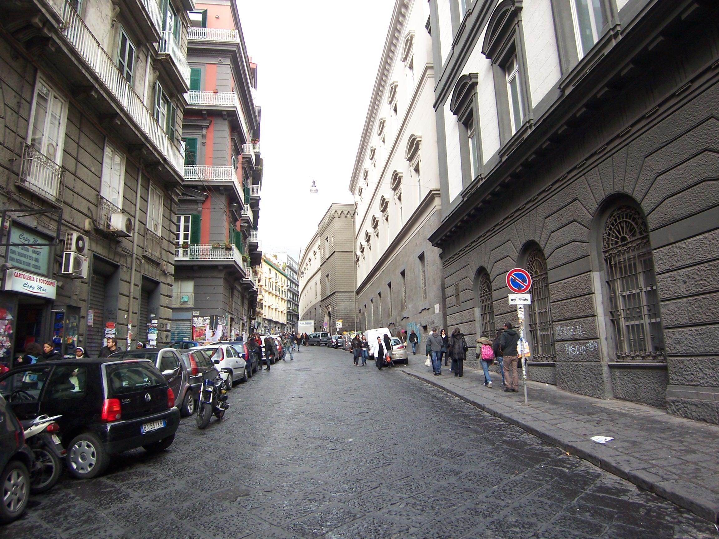 Via Sedile Di Porto.Via Mezzocannone Wikipedia