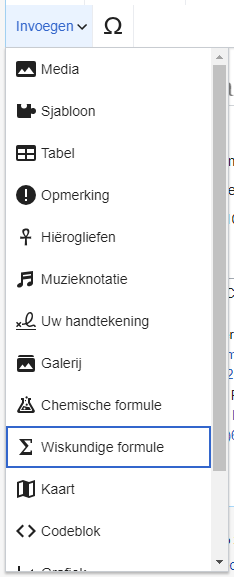 VisualEditor Formula Insert Menu-nl.png