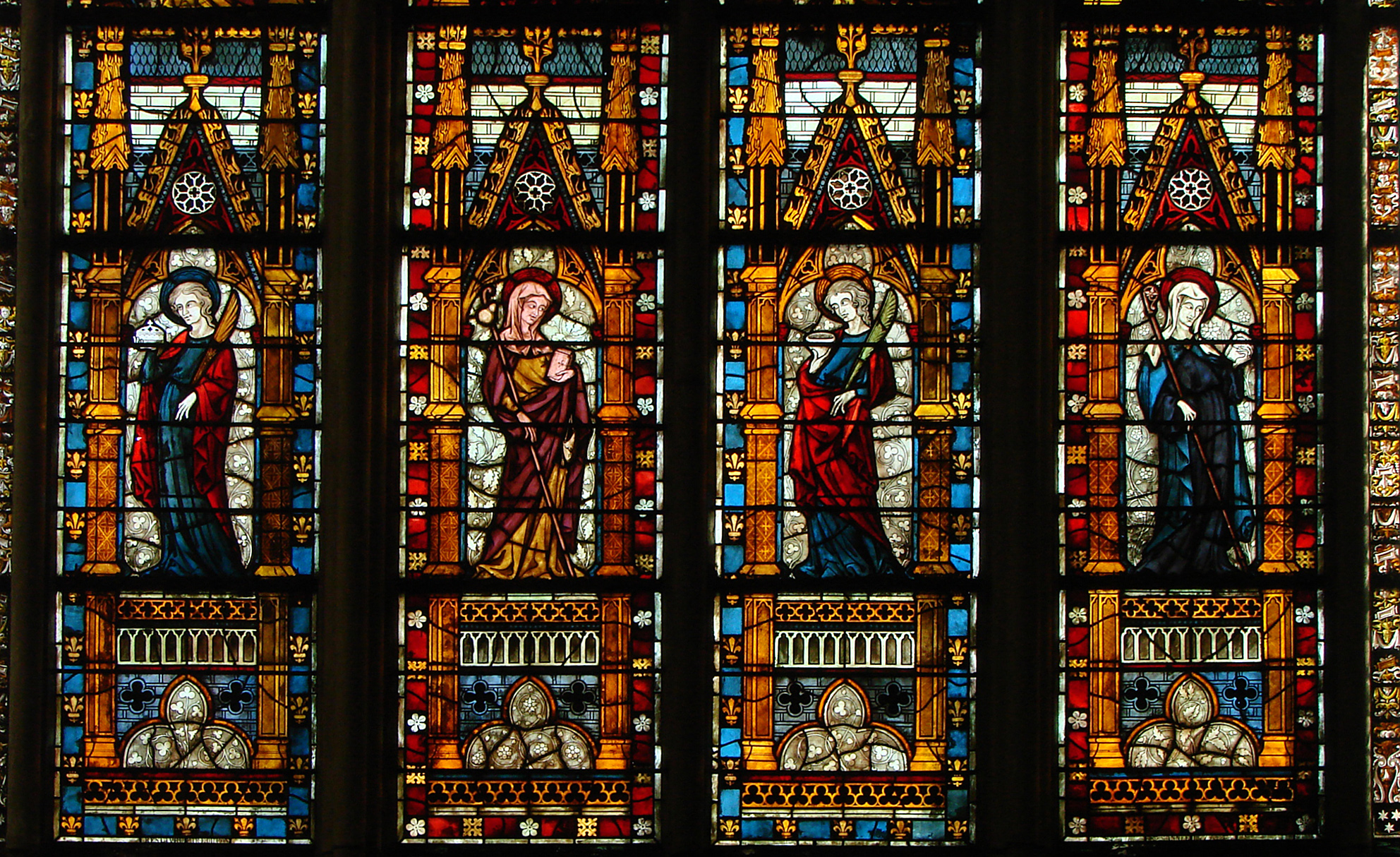 Dimensions Of Glass In South Window Of Canterbury Cathedral