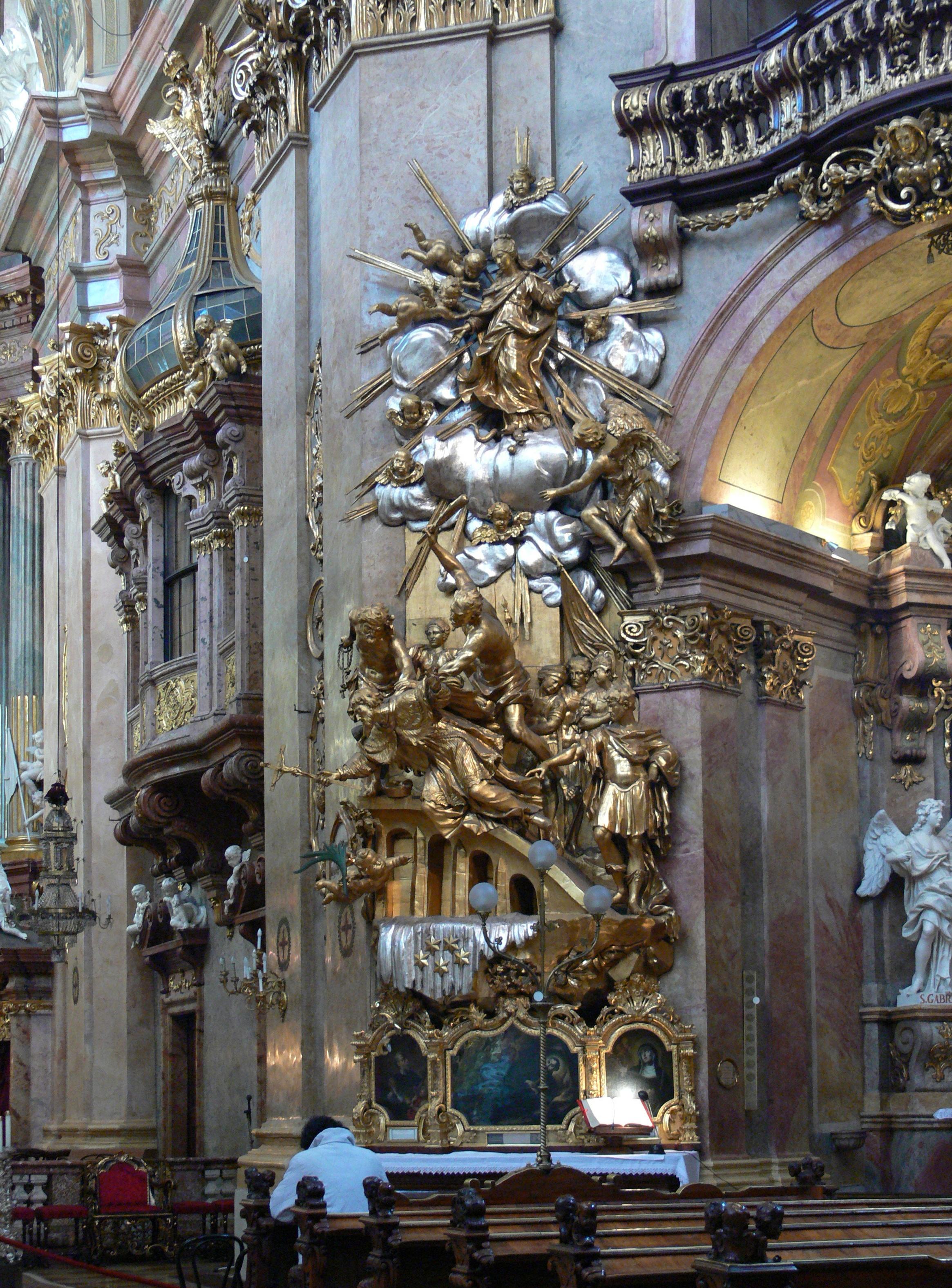 Filewien Peterskirche Martyrium Des Hl Nepomukjpg Wikimedia Commons