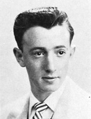Allen As A High School Senior, 1953