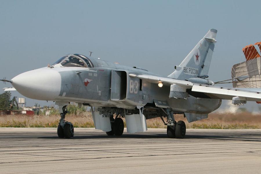Инцидент с уничтожением российского Су-24 в Сирии — Википедия