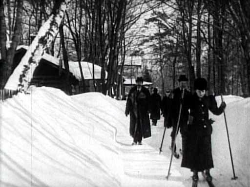 1908г москва под снегом 100 лет назад