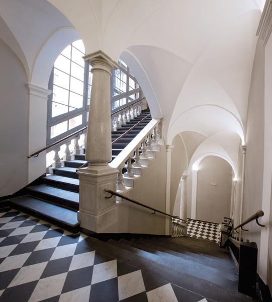 Escalier du Palazzo Lomellini-Dodero à Gênes - Photo de Rodjana