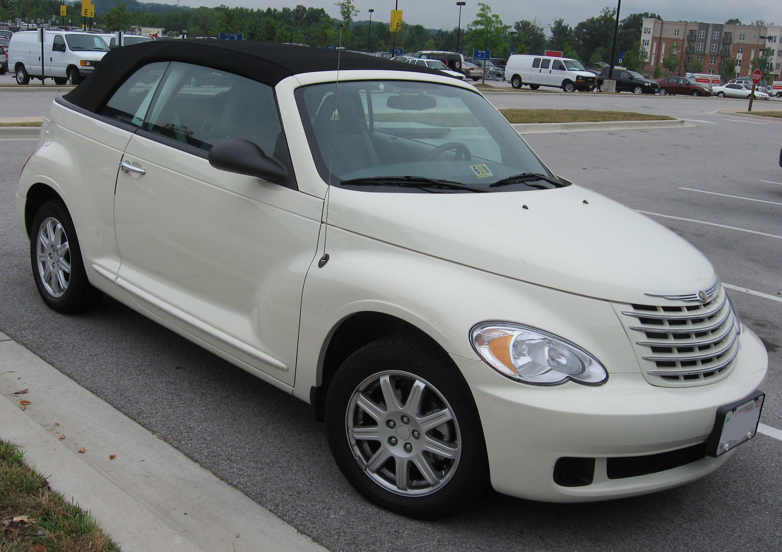 File 06 07 Chrysler Pt Cruiser Convertible Jpg Wikimedia