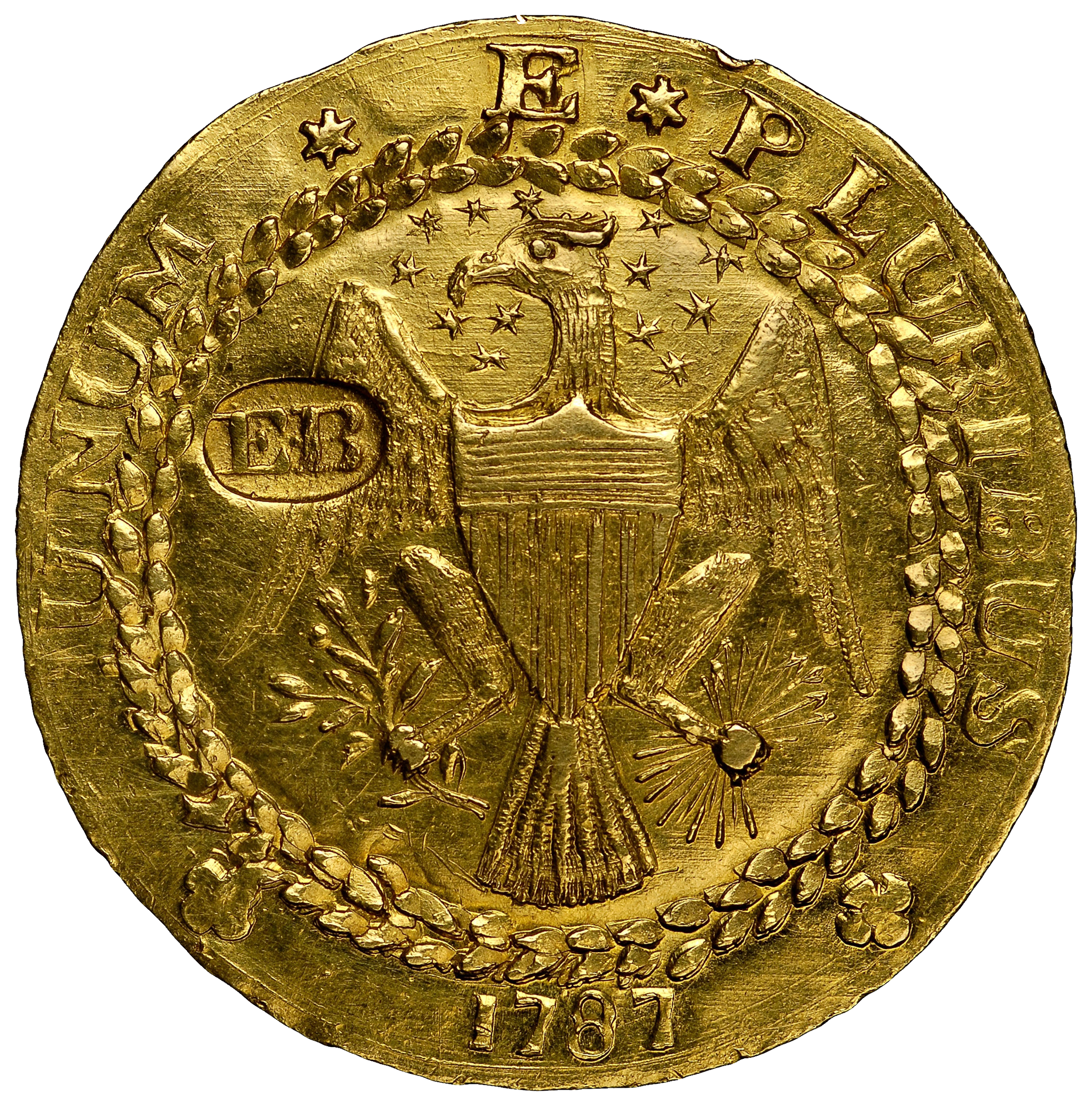 File1787 Brasher Doubloon Obverse Transparent Background