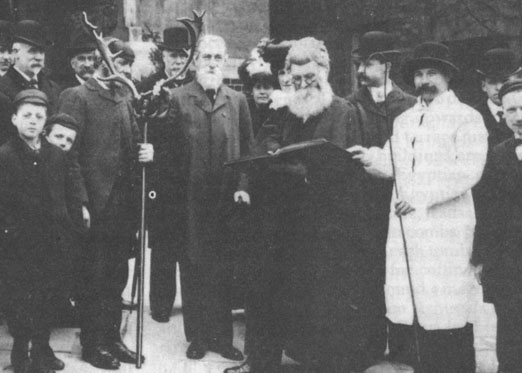 Swearing on the Horns, 1906