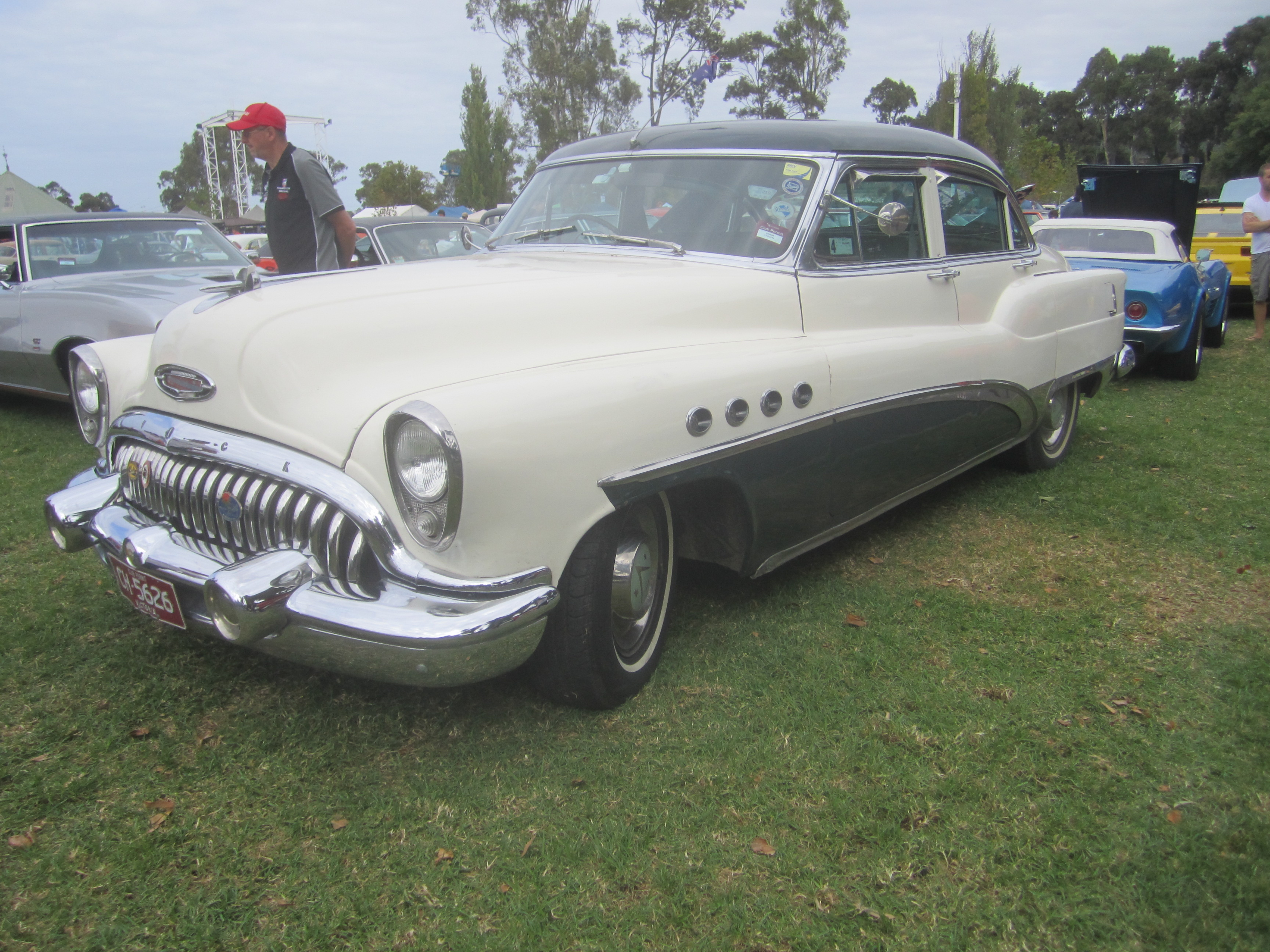 file 1953 buick series 80 roadmaster wikimedia. Cars Review. Best American Auto & Cars Review