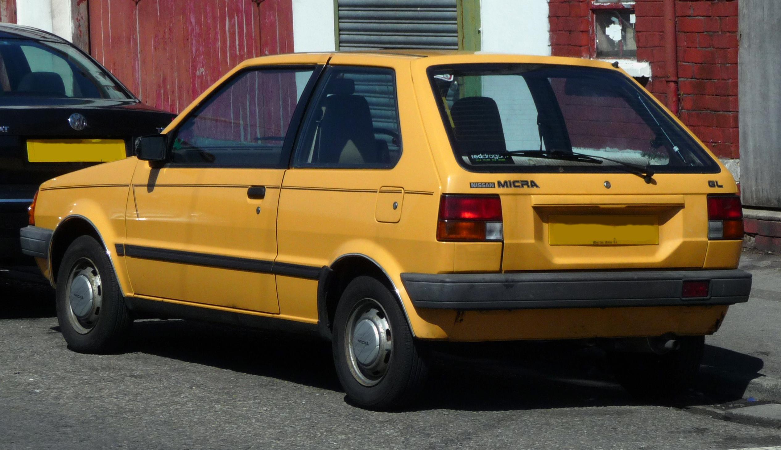 File 1984 Nissan Micra Gl K10 Jpg