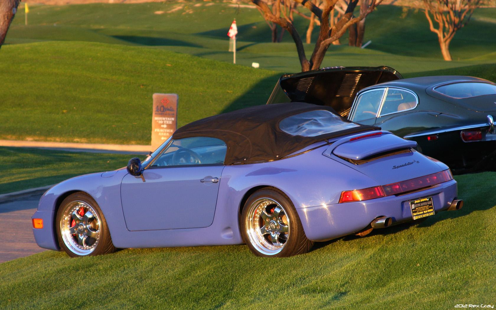 File 1994 Porsche 993 Speedster Barry Bonds Car Rvl