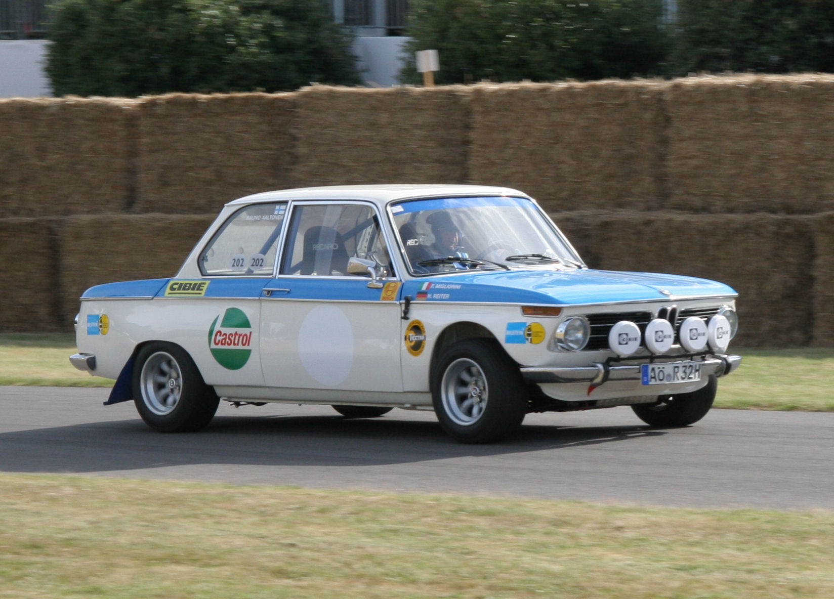 Bmw 2002 Ti Group 2 1969 Racing Cars