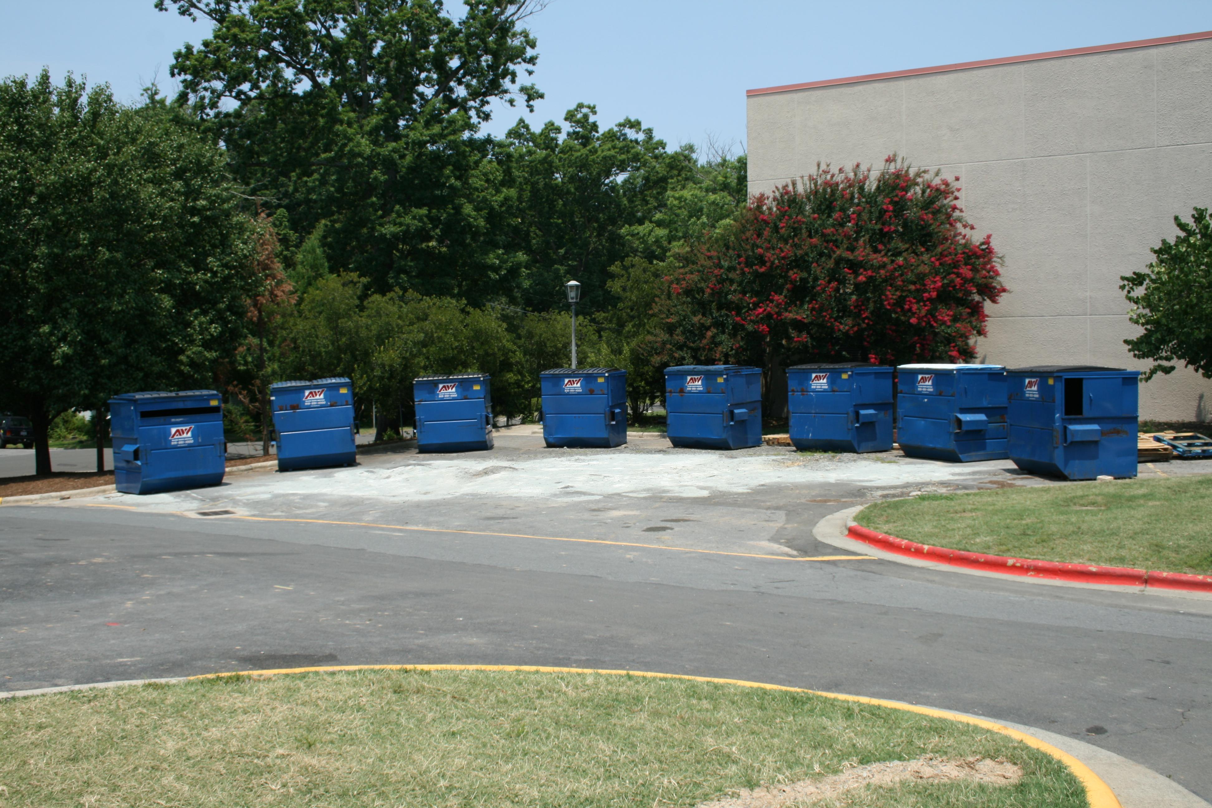 local dumpster rentals