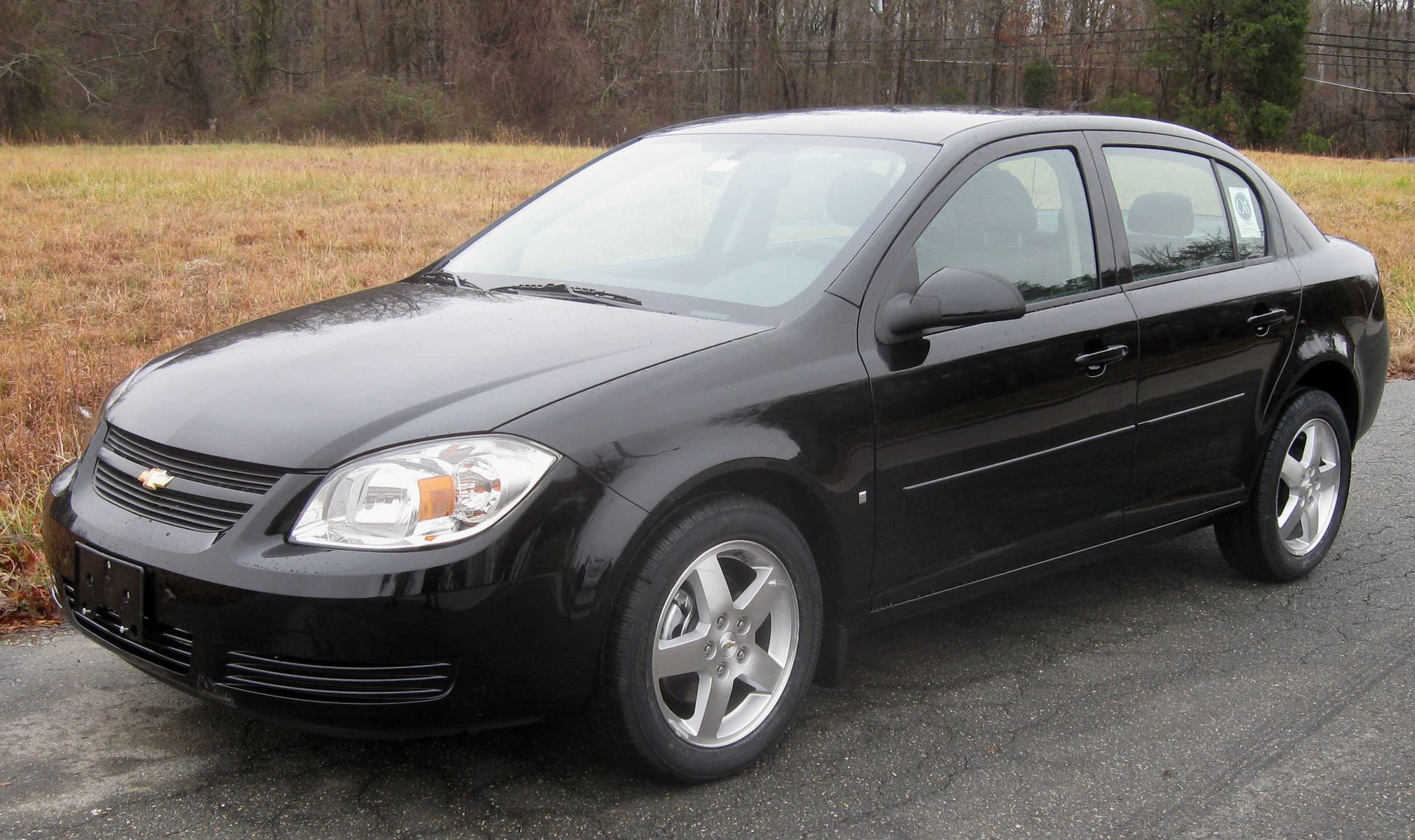 Datei 2009 Chevrolet Cobalt Lt Sedan Jpg Wikipedia