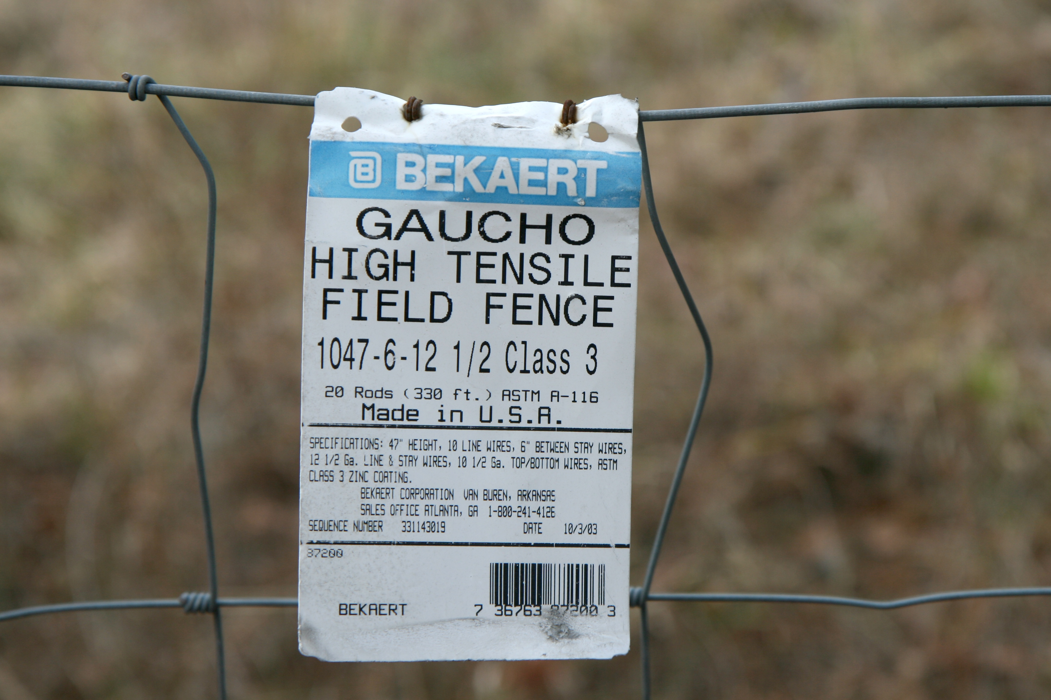 File:2011-02-02 Bekaert Gaucho fence tag.jpg - Wikimedia Commons