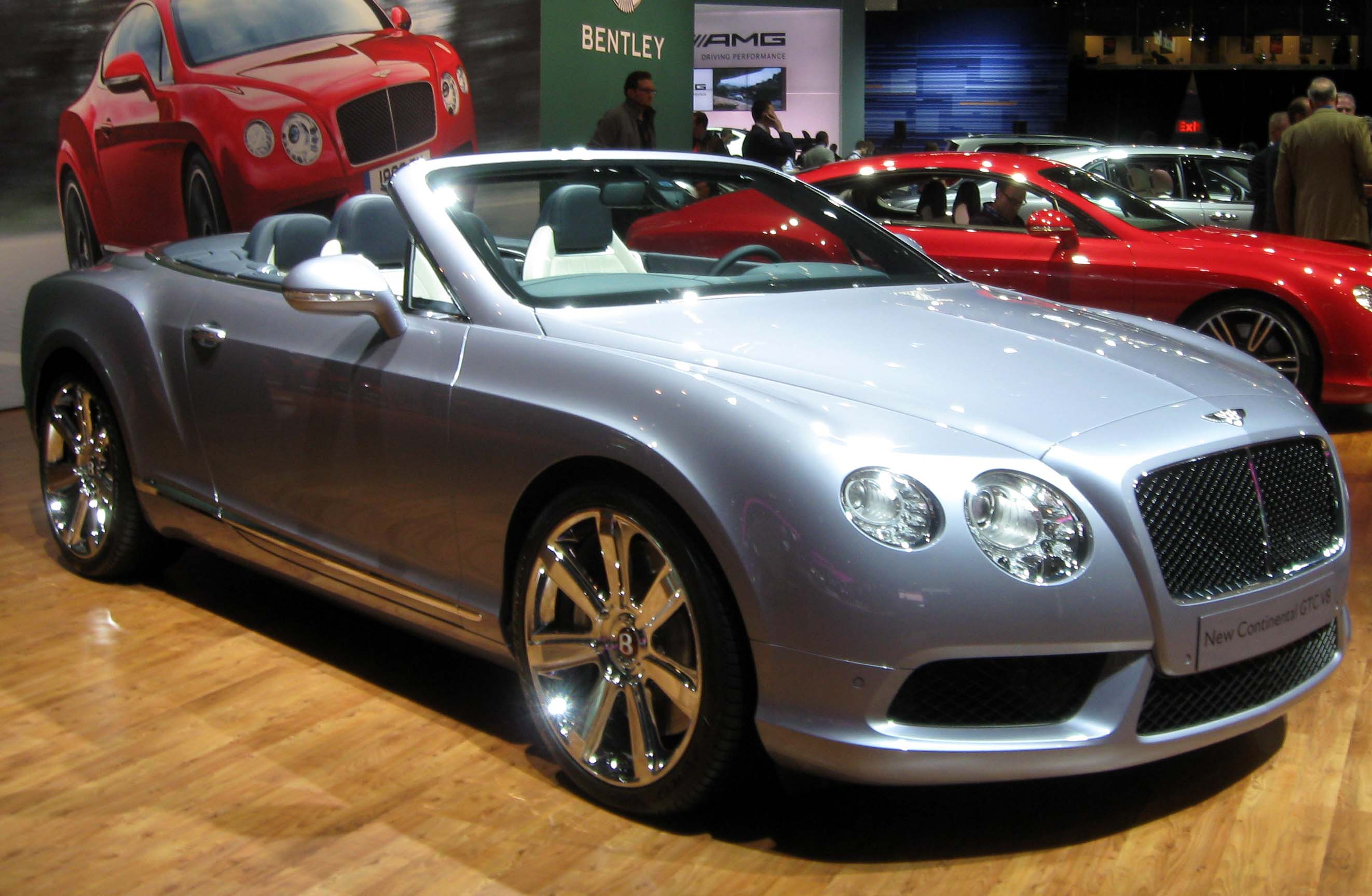 File:2013 Bentley Continental GTC -- 2012 NYIAS.JPG - Wikipedia, the ...