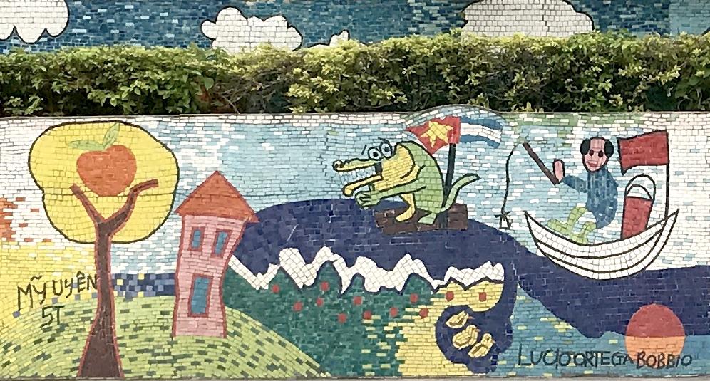 Image result for Hanoi Ceramic Mosaic Mural
