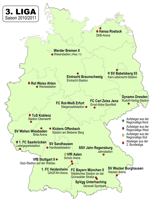 fussball deutschland 3 liga