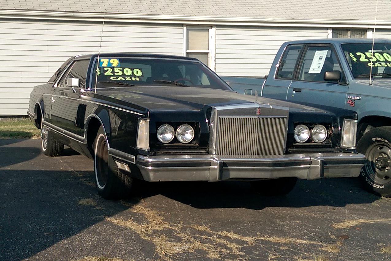 File:79 Lincoln Continental Mark VI.jpg - Wikimedia Commons